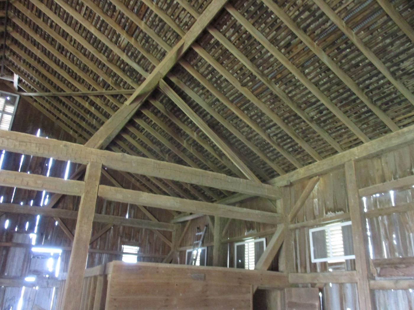Ohio Valley Barn Salvage Hill Barn Frame 13