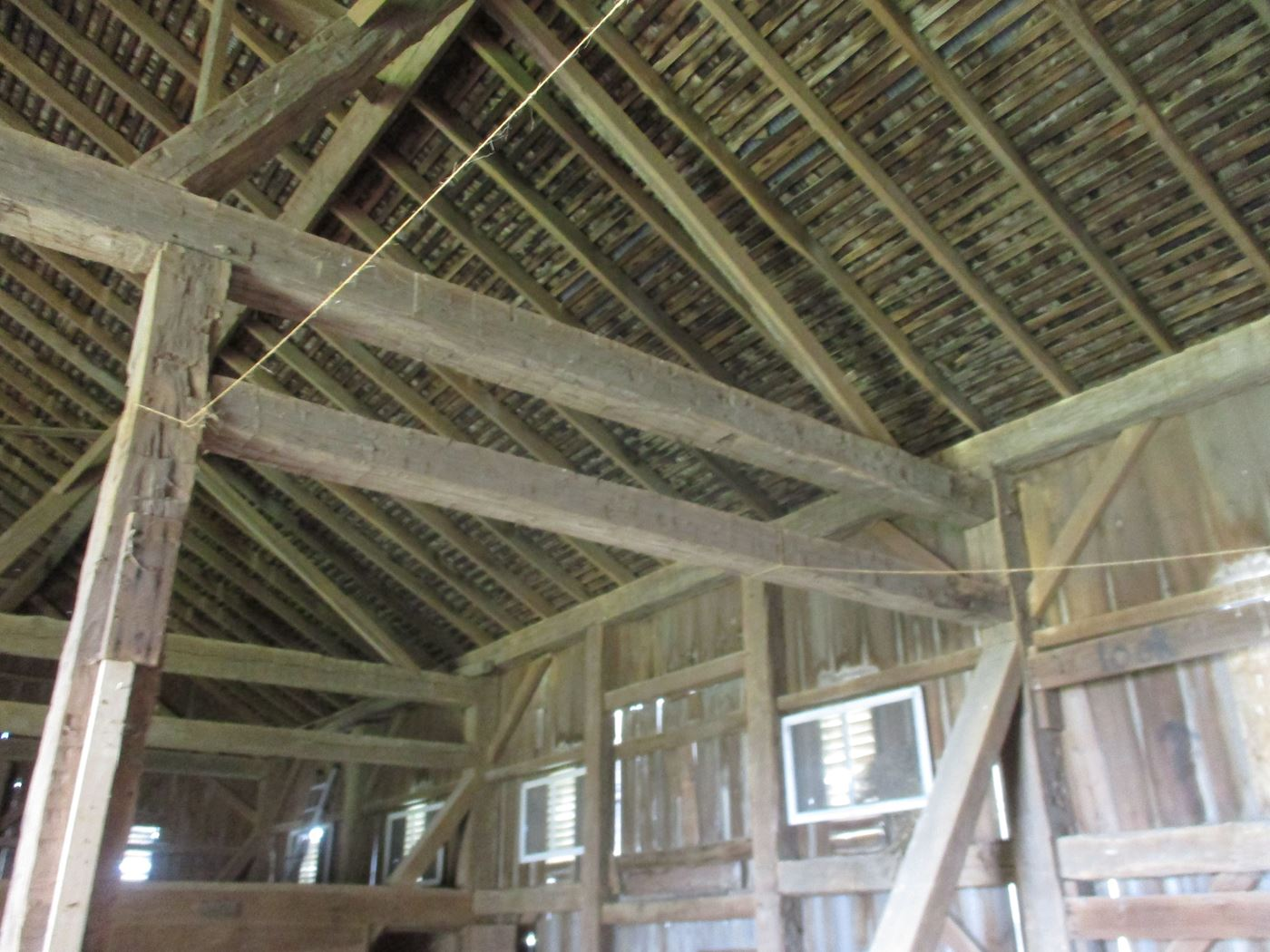 Ohio Valley Barn Salvage Hill Barn Frame 14