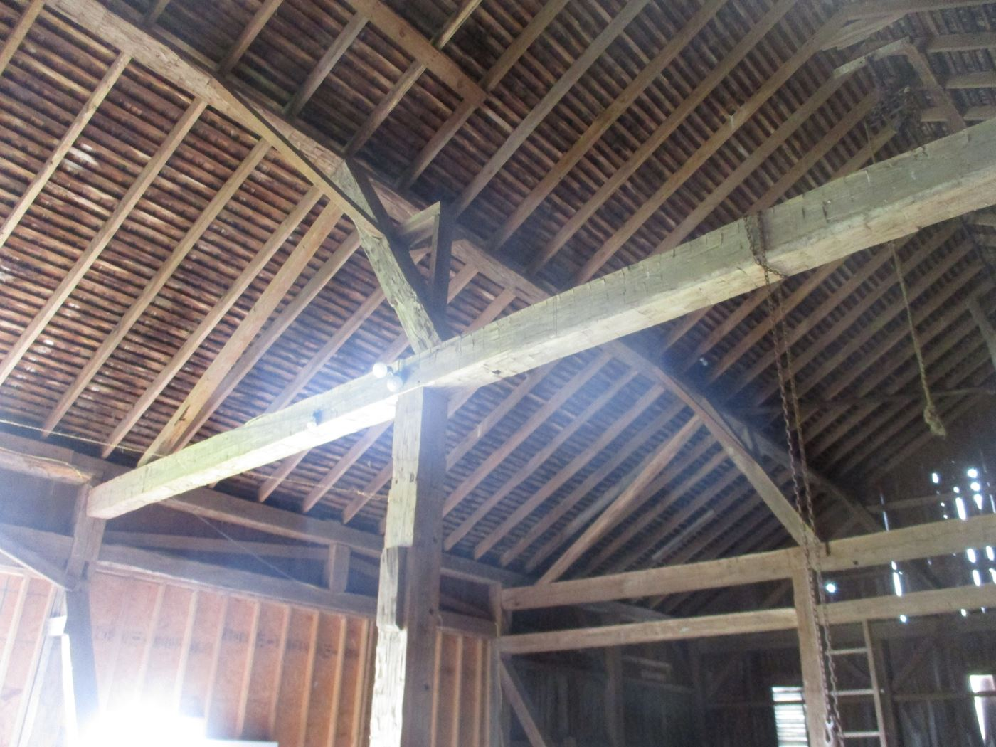 Ohio Valley Barn Salvage Hill Barn Frame 15