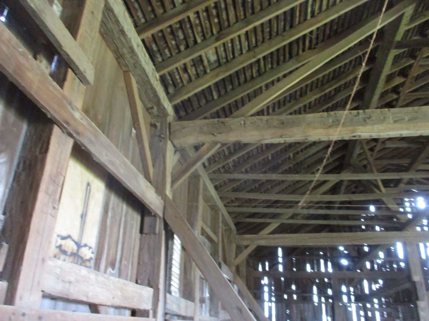 Ohio Valley Barn Salvage Hill Barn Frame 16