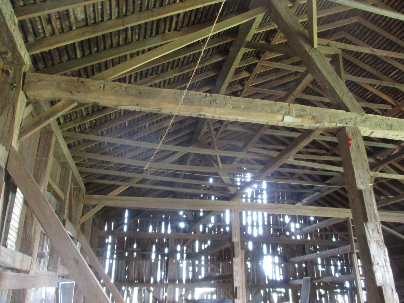 Ohio Valley Barn Salvage Hill Barn Frame 17
