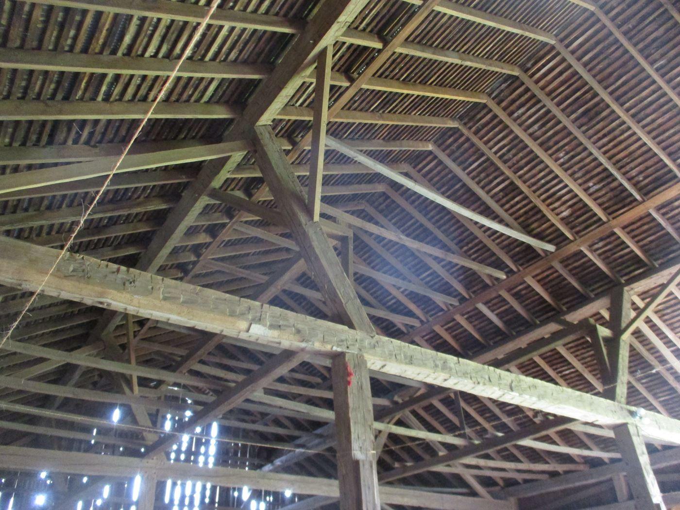 Ohio Valley Barn Salvage Hill Barn Frame 18