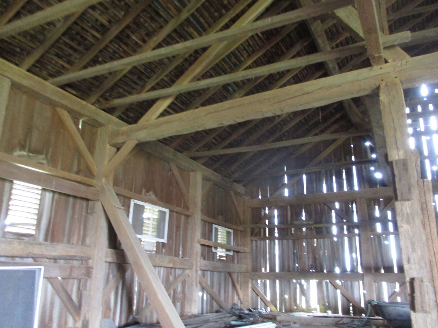 Ohio Valley Barn Salvage Hill Barn Frame 19
