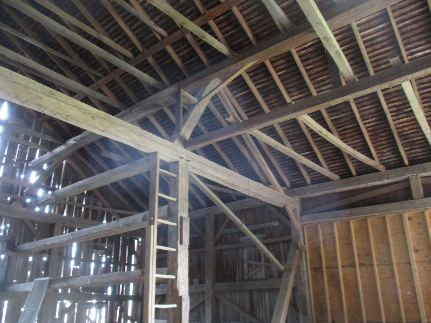 Ohio Valley Barn Salvage Hill Barn Frame 20