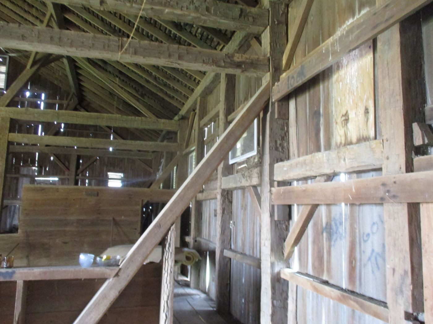 Ohio Valley Barn Salvage Hill Barn Frame 27