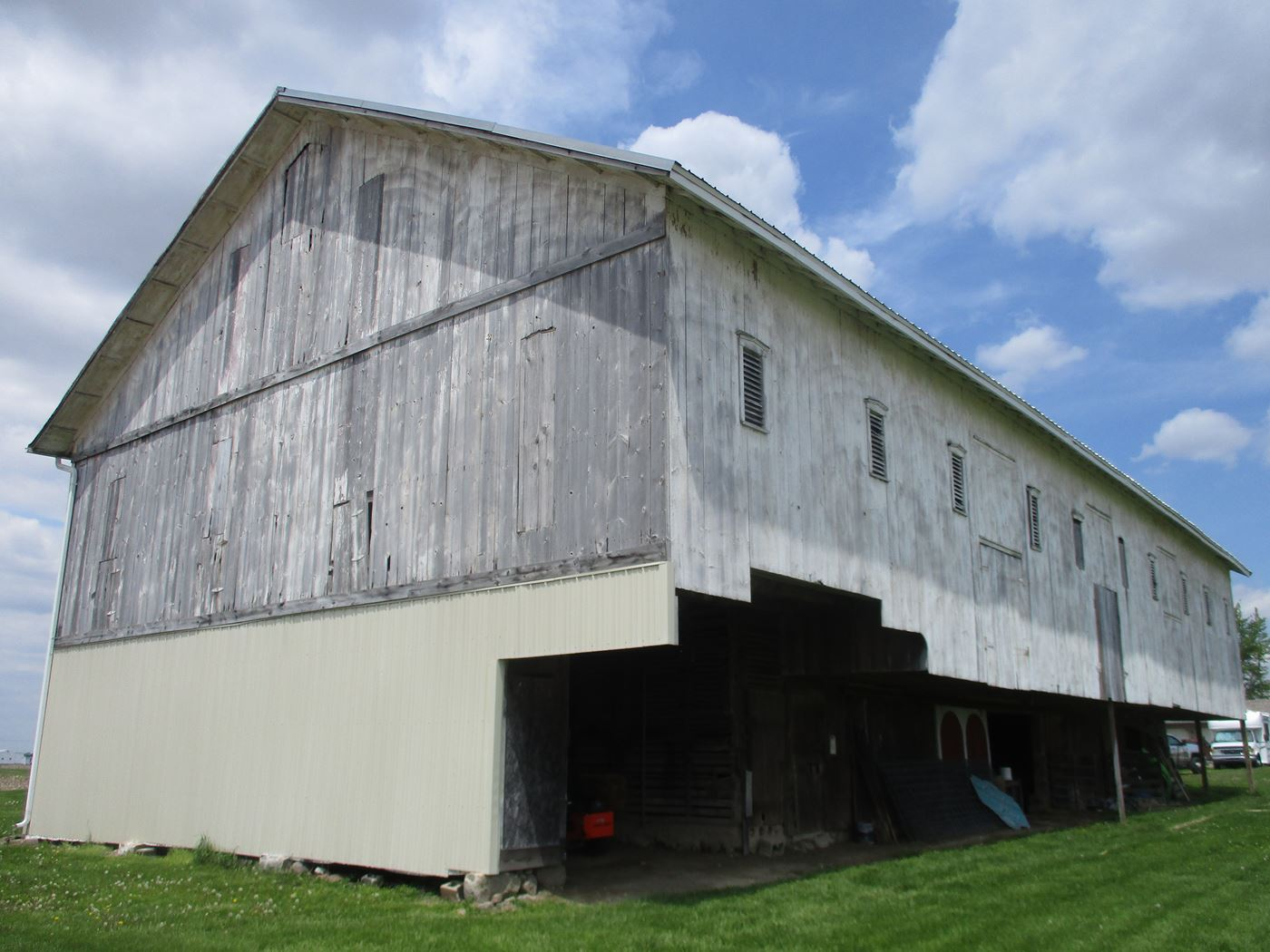 Ohio Valley Barn Salvage Hill Barn Frame 4