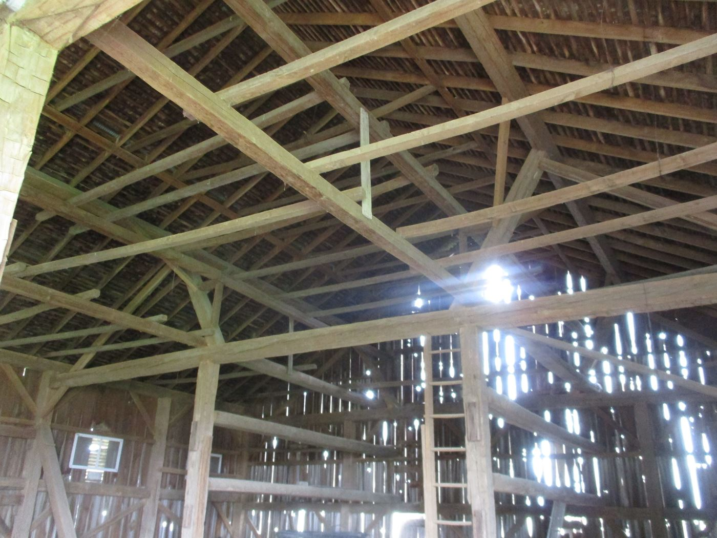 Ohio Valley Barn Salvage Hill Barn Frame 6