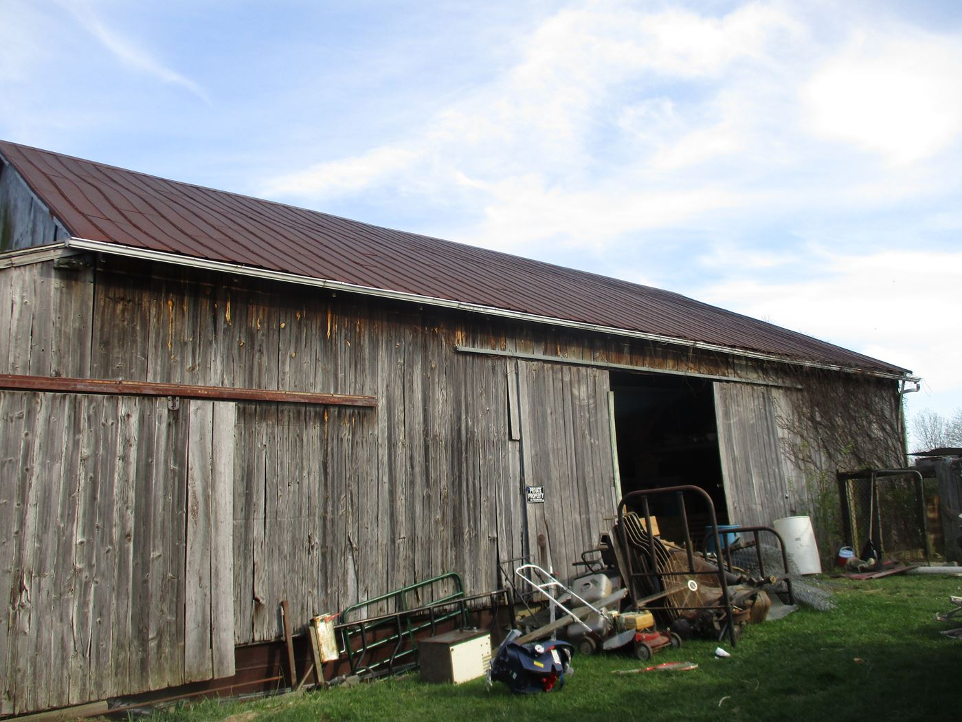 Ohio Valley Barn Salvage Troyer Barn Frame 1