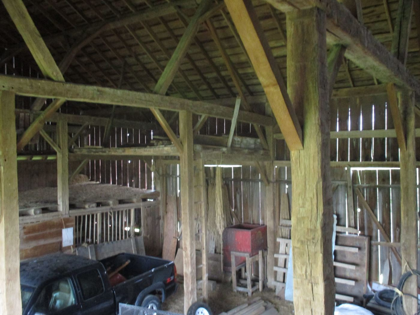 Rahm Barn Frame Ohio Valley Barn Salvage 14