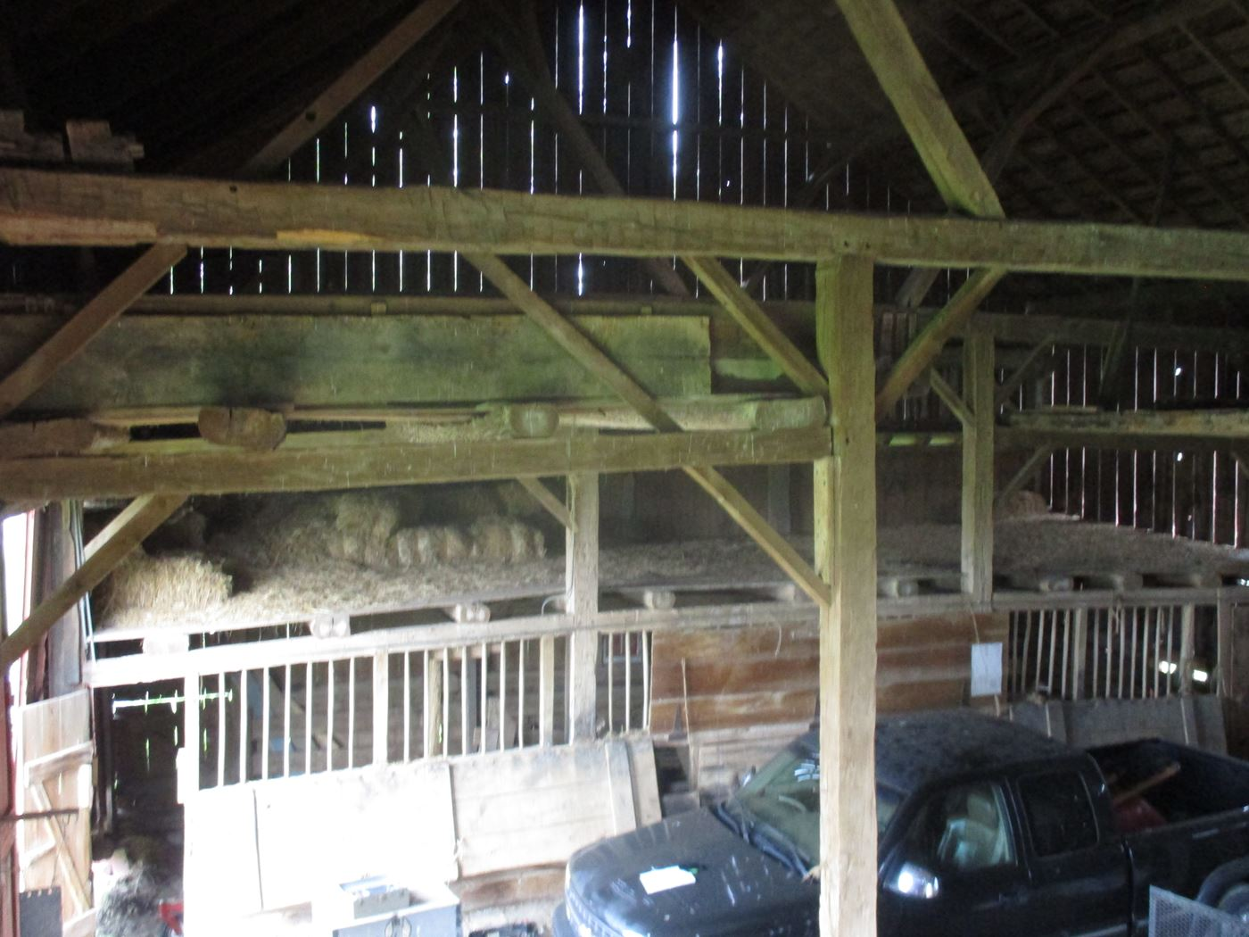 Rahm Barn Frame Ohio Valley Barn Salvage 15
