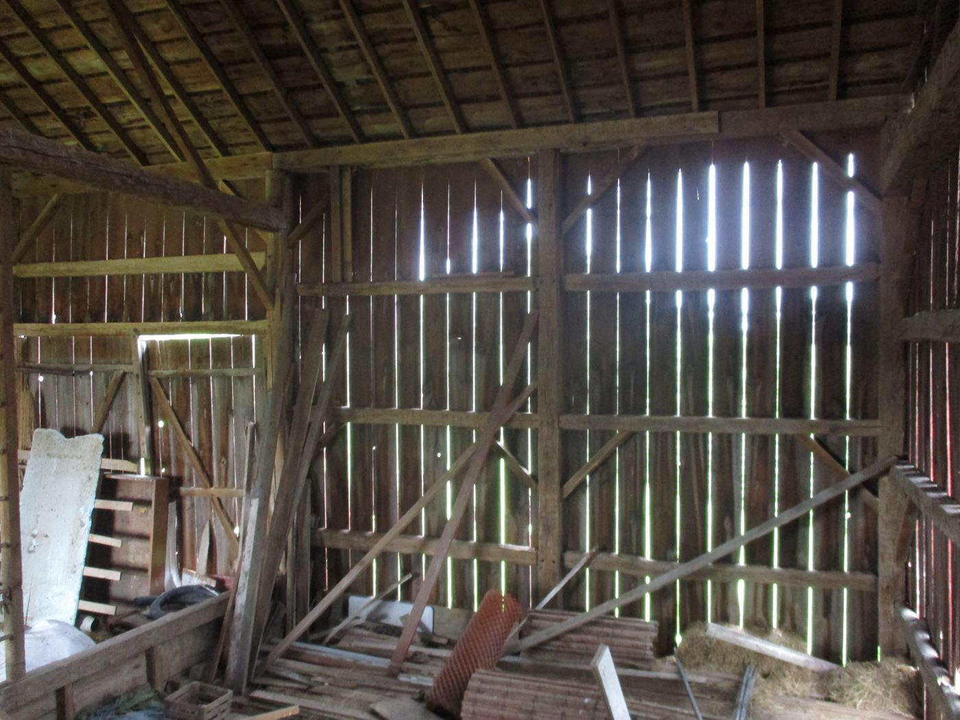 Rahm Barn Frame Ohio Valley Barn Salvage 22