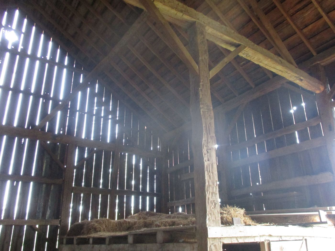 Rahm Barn Frame Ohio Valley Barn Salvage 26