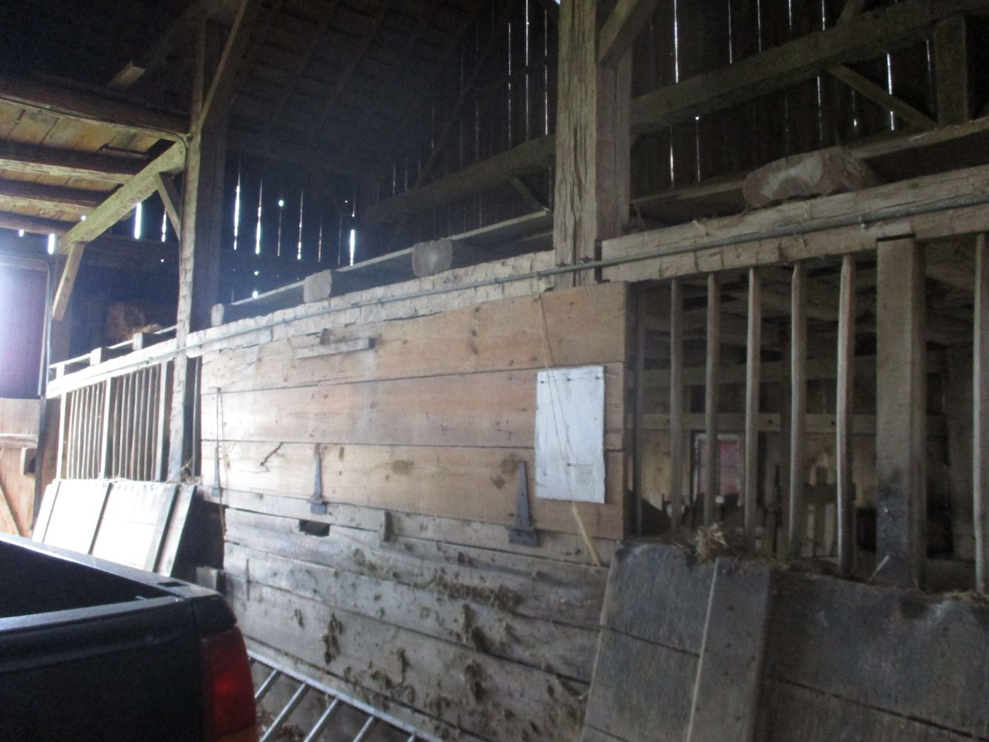 Rahm Barn Frame Ohio Valley Barn Salvage 32