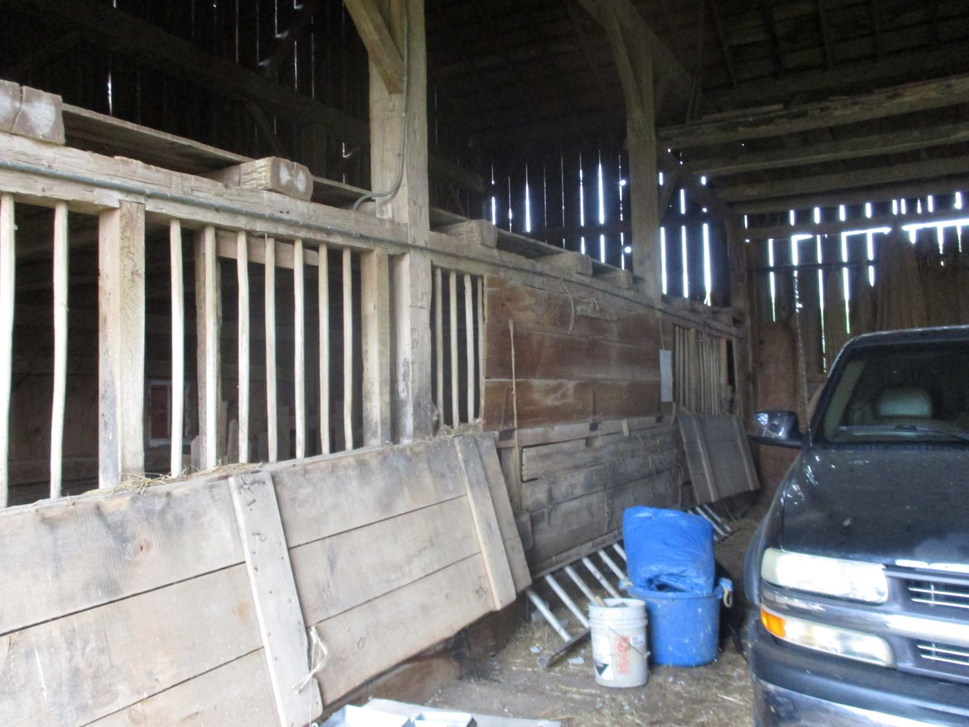 Rahm Barn Frame Ohio Valley Barn Salvage 34