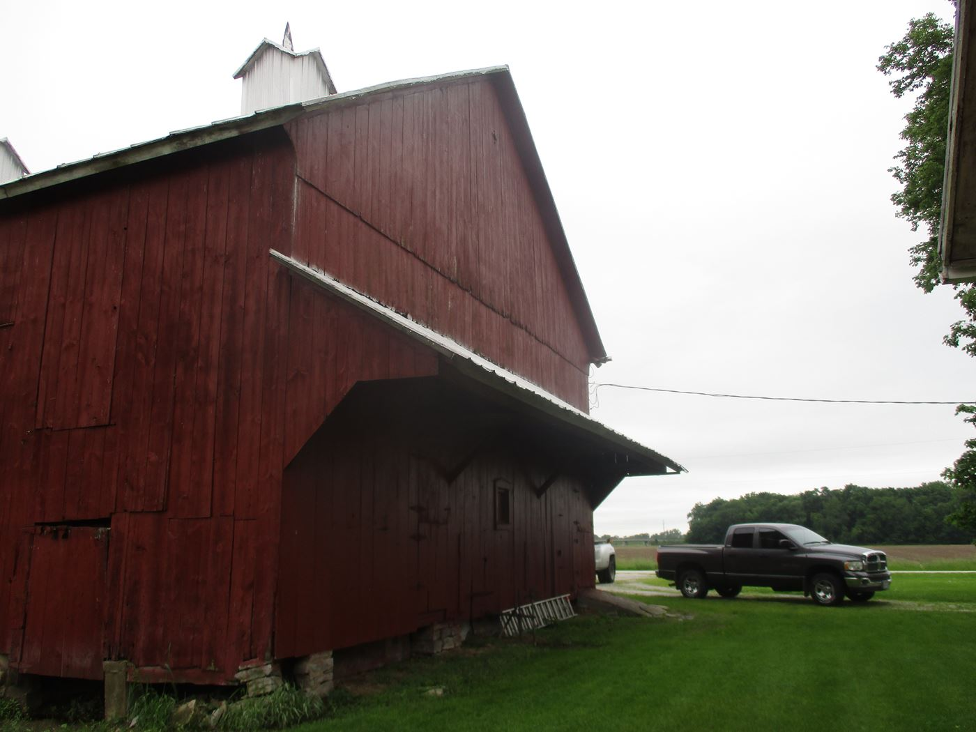 Rahm Barn Frame Ohio Valley Barn Salvage 4