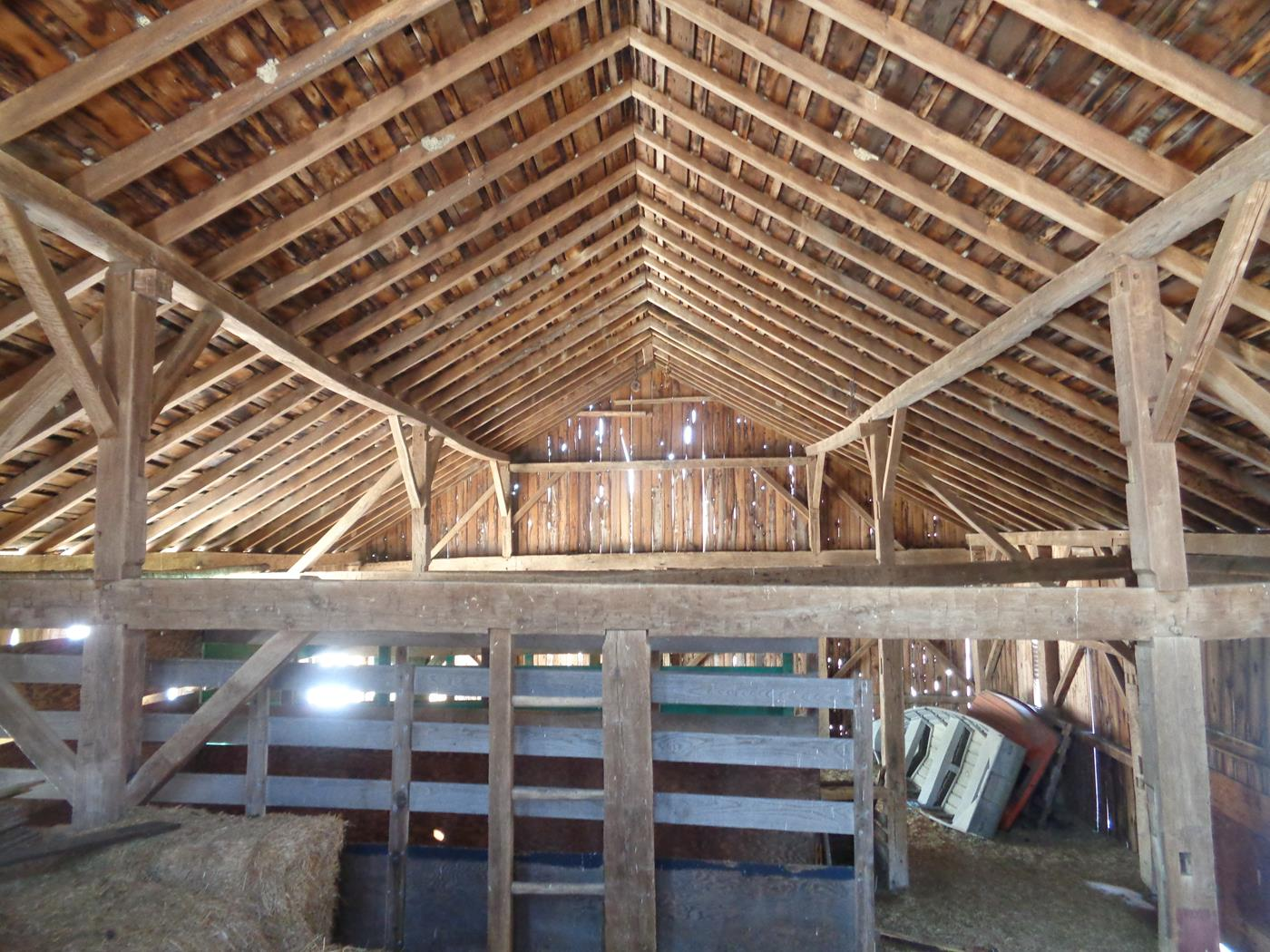 Reeder Barn Frame Construction Structure Restoration 3