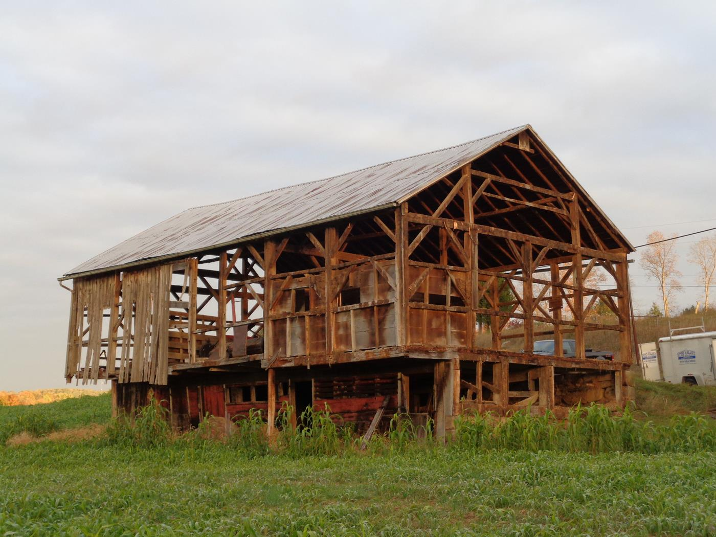 Reeder Barn Frame Construction Structure Restoration 6