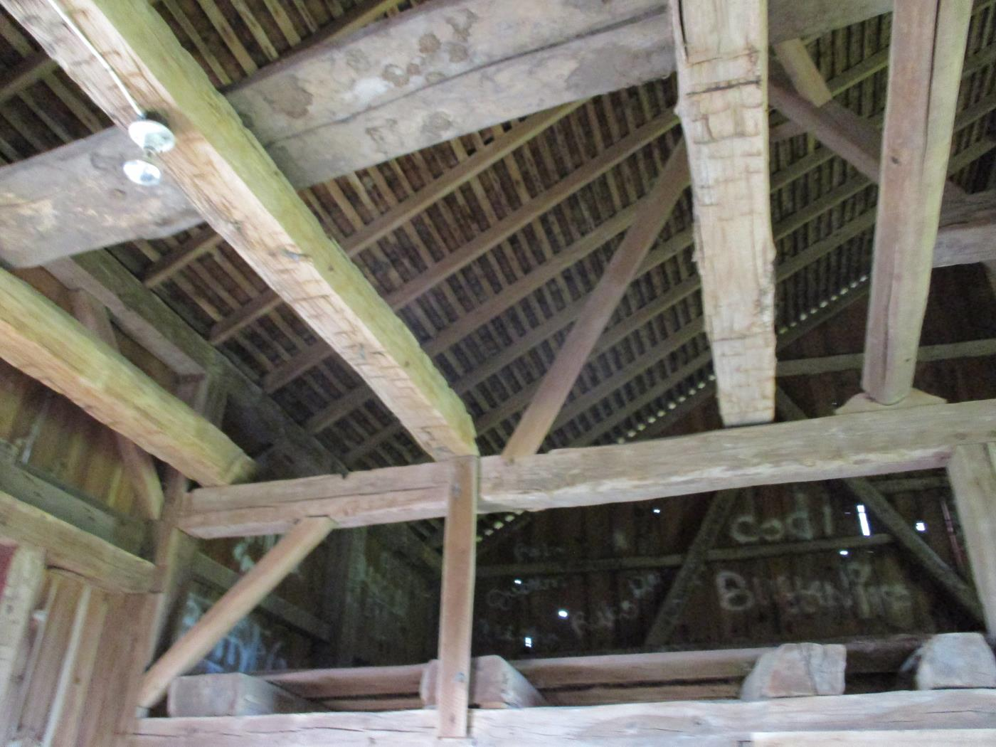 Shelby Barn Frame Ohio Valley Barn Salvage 10