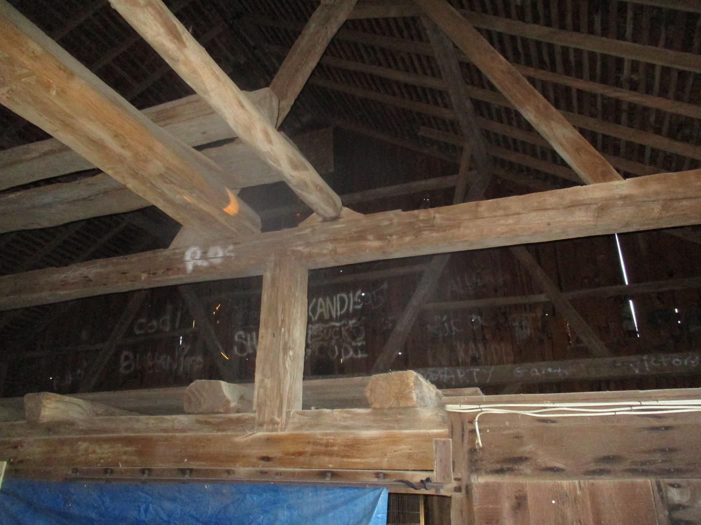 Shelby Barn Frame Ohio Valley Barn Salvage 13