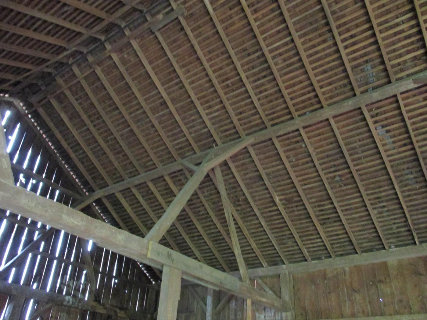Shelby Barn Frame Ohio Valley Barn Salvage 7