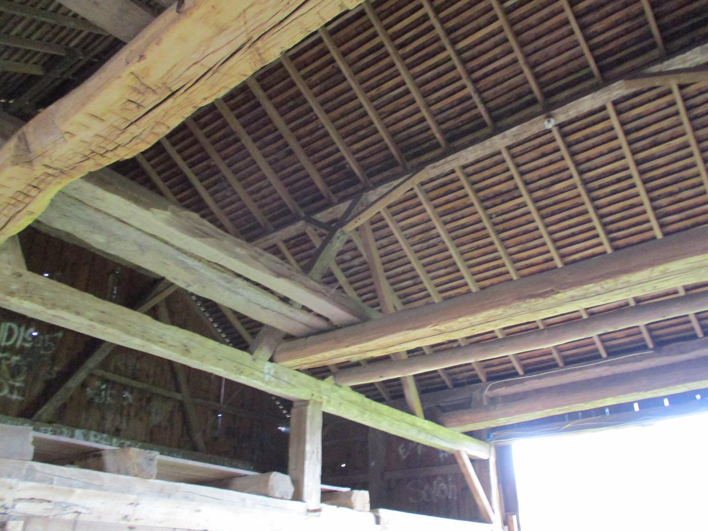 Shelby Barn Frame Ohio Valley Barn Salvage 9