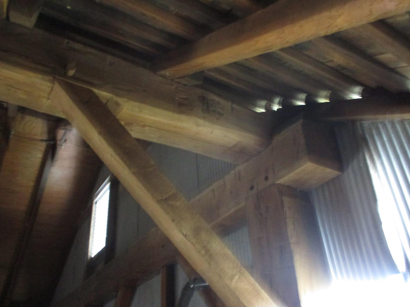 Stoomps Barn Frame Ohio Valley Barn Salvage 16