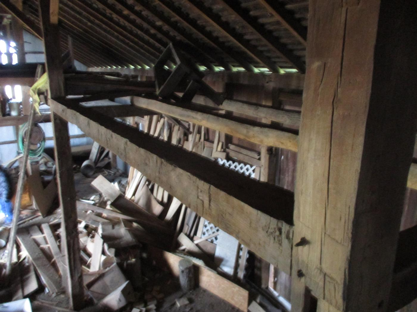 Stoomps Barn Frame Ohio Valley Barn Salvage 21