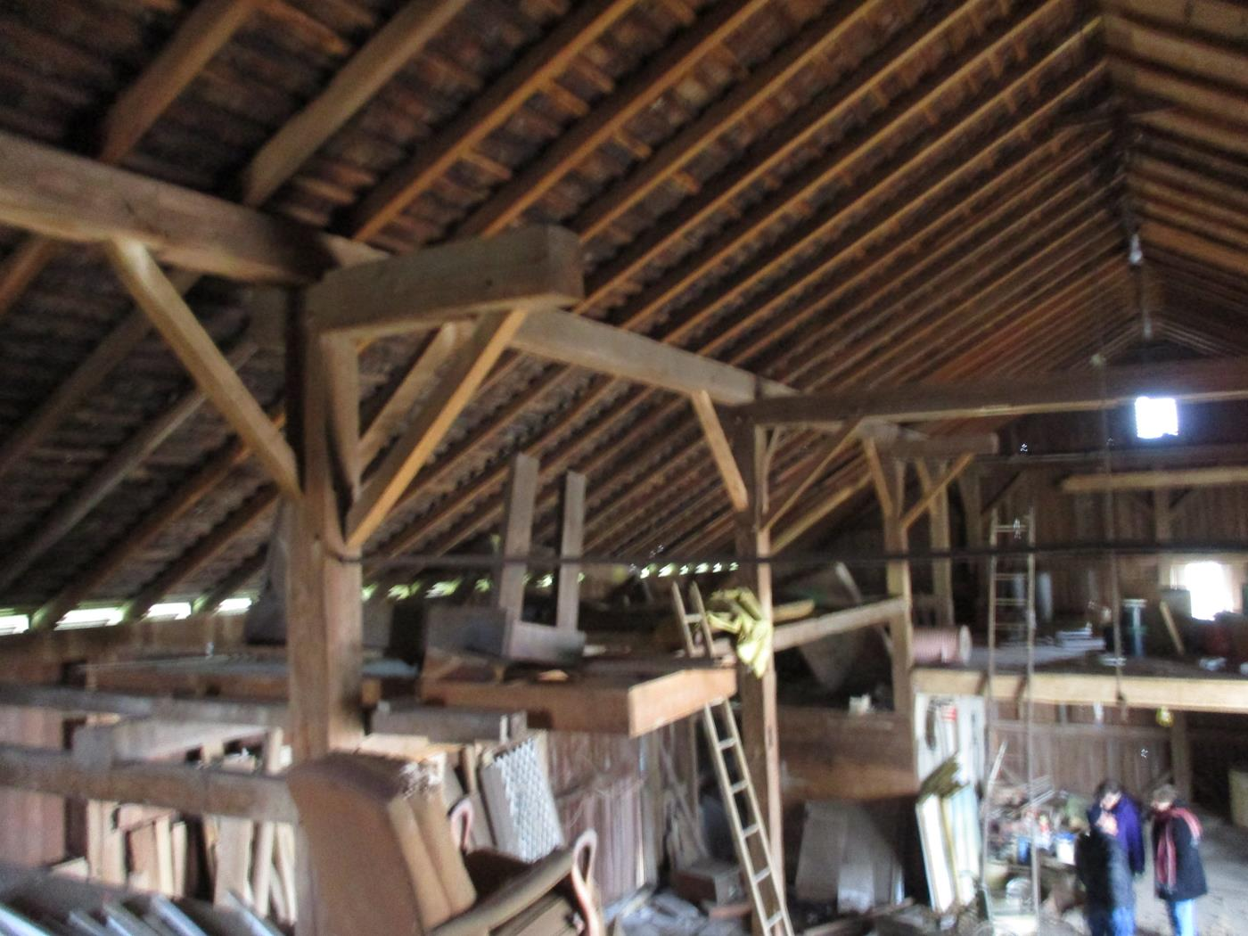 Stoomps Barn Frame Ohio Valley Barn Salvage 6