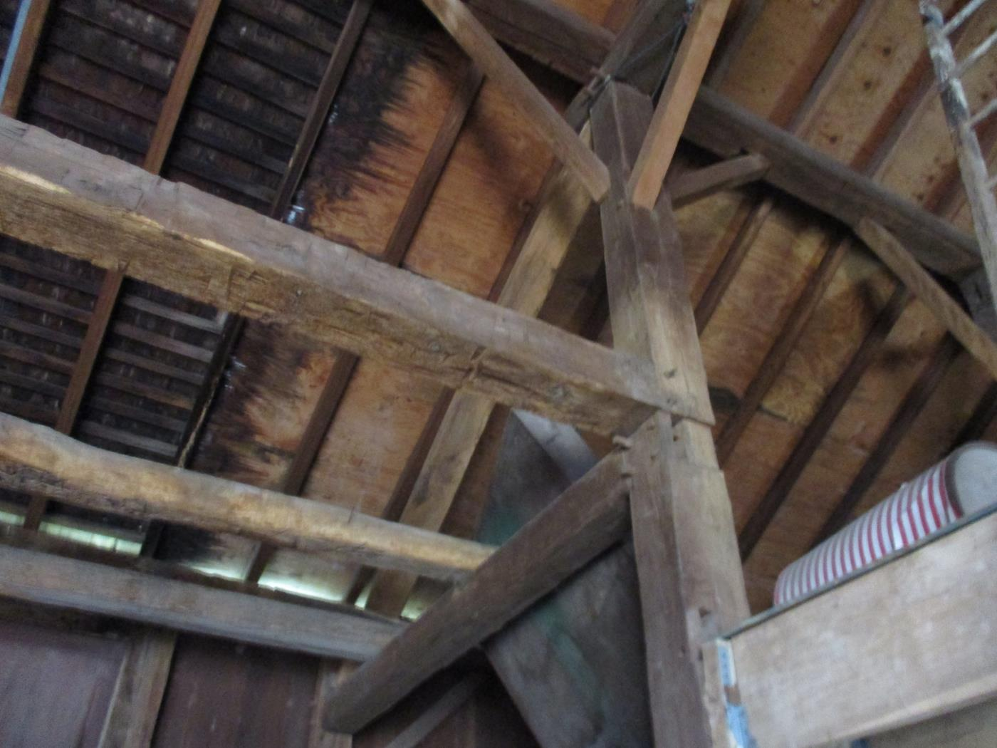 Stoomps Barn Frame Ohio Valley Barn Salvage 7