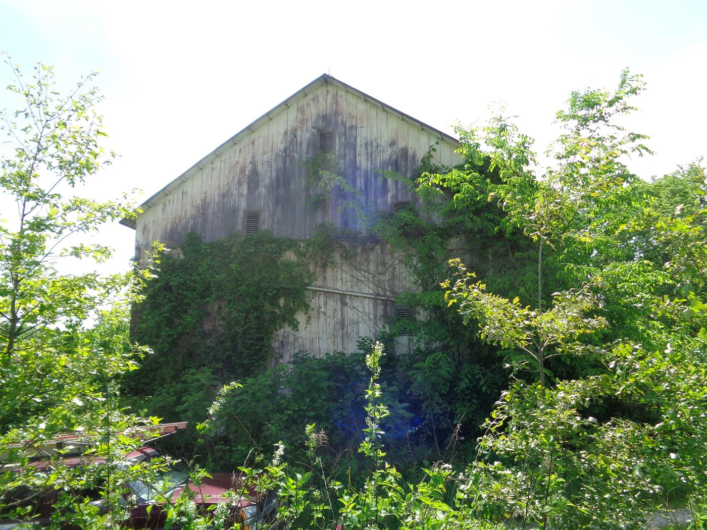 Tugend Road Barn Frame Salvage Site Cleanup Restoration 2