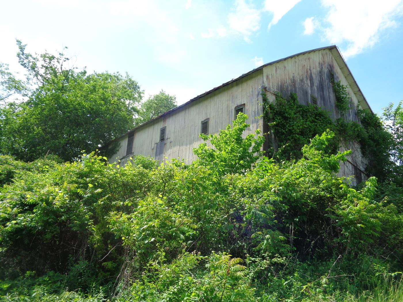 Tugend Road Barn Frame Salvage Site Cleanup Restoration 3