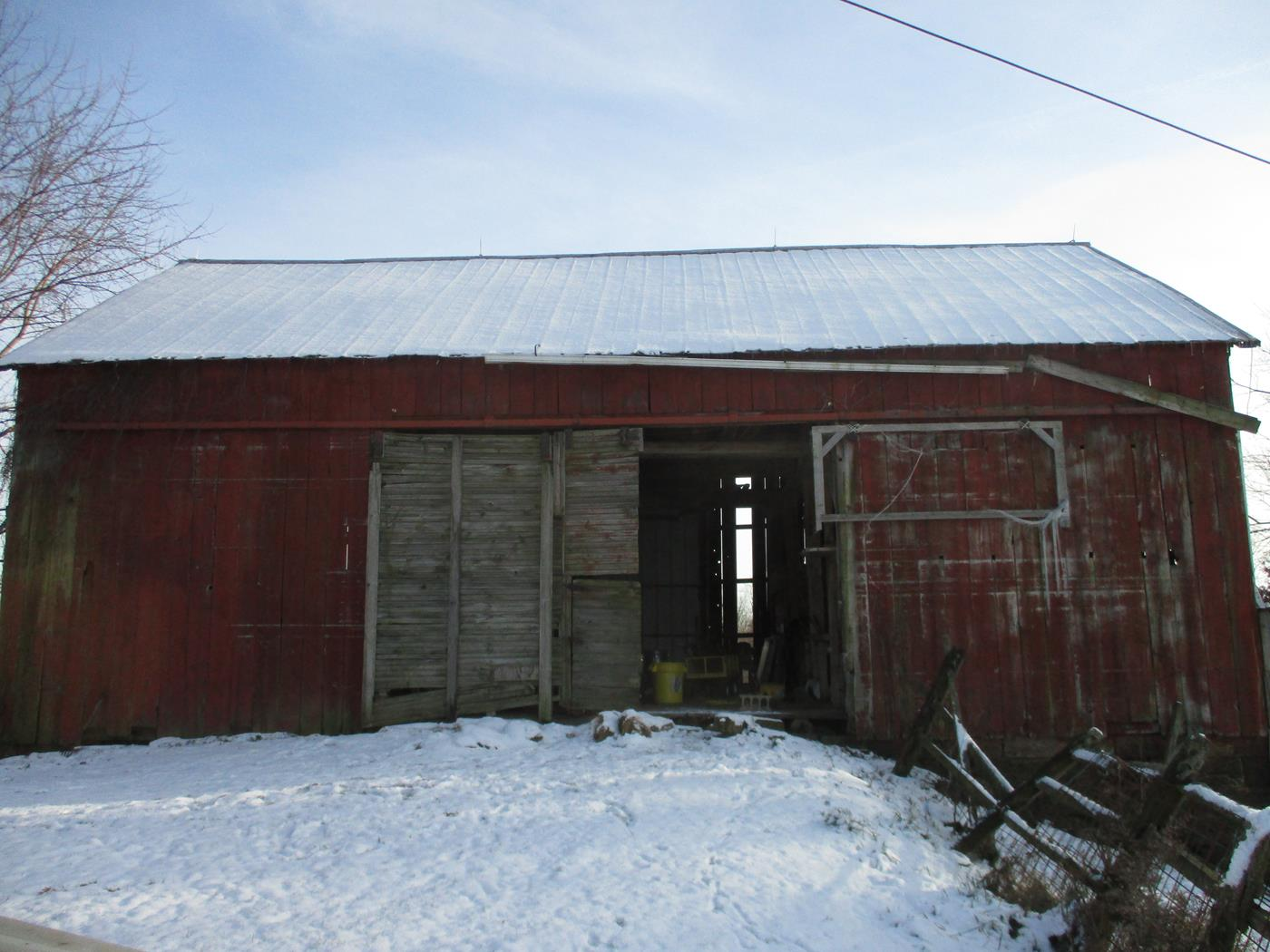 Tyson Barn Frame Ohio Valley Barn Salvage 1